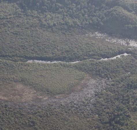 vista aerea de campo
