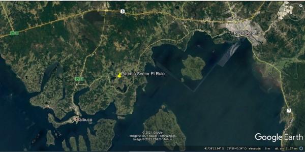 ubicacion de la parcela en sector El Rulo
